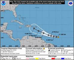 Weather Sentinel Hurricane Dorian Confidence Increasing