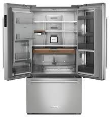 refrigerator kitchenaid. kitchenaid 24\u0027 french door counter depth refrigerator kitchenaid h