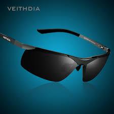 VEITHDIA Brand Alumunum <b>Men's Polarized UV400</b> Mirror ...