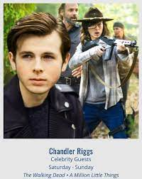Chandler Riggs - hope to see you in Cleveland this weekend! | Facebook