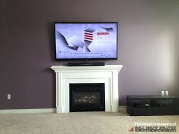 tv on wall where to put cable box. tv above fireplace where to put components figure 9 do you on wall cable box