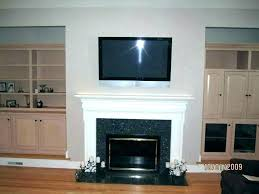 mounting tv without studs mounting on brick mounting a over a fireplace without studs mounting on