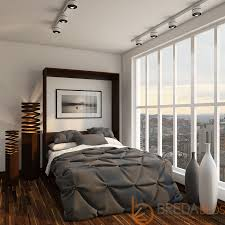 modern wall bed. Modern-murphy-bed-open Modern Wall Bed