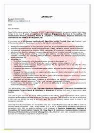 Sample Cover Letter For Hr Position Fresh Graduates Elegant Cover