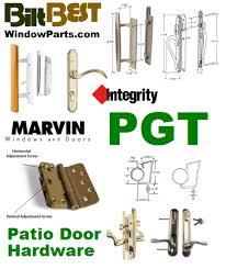 patio door replacement hardware parts