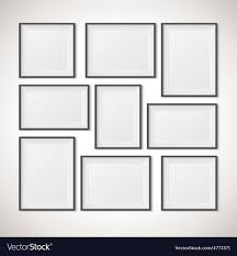 Multiple picture frames Painting Multiple Frames Vectorstock Multiple Frames Royalty Free Vector Image Vectorstock