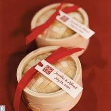 favors of mini bamboo steamers filled with fortune cookies asian Zen Wedding Gifts 17 traditional chinese wedding ideas Gifts for the Zen Office