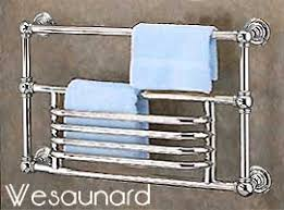 Towel Warmer Wesaunard Baronial 8 Wall Mounted Hydronic or