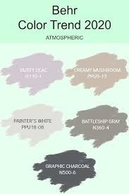 trending paint colors behr
