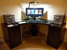 linnmon corner table top black corner desk target secretary desk with hutch ikea