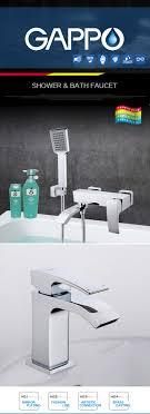 Gappo Waschtischarmaturen Waschbecken Wasserhahn Wasser Mischer Dusche Wasserhahn Badewanne Wasserhahn Regendusche Tarneira Tun Chuveiro