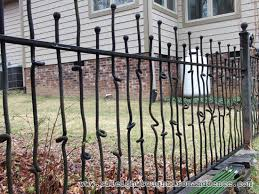 iron fence ideas. Unique Ideas Wrought Iron Fence Colors On Iron Fence Ideas O