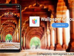 Xiaomi Redmi Note 8 Pro Wallpaper Carousel