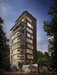 apartment building design. Isay Weinfeld Unveils The Design For His First Project In New York City Apartment Building