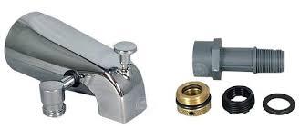 shower diverter kit tub spout adapter add a shower and hand shower tub spout kits delta