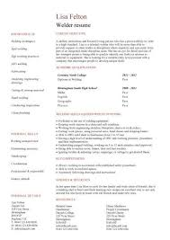 Welder Resume Unique Welder Resume Example Will Give Ideas And Provide As References Your
