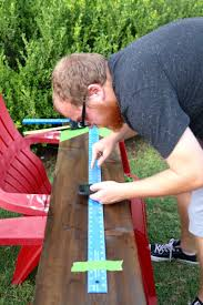 How To Mark A Wooden Growth Chart Diy Wooden Growth Chart That Looks Like A Ruler Love