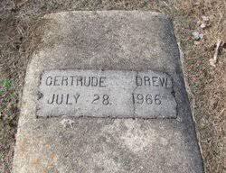 Gertrude Drew (Unknown-1966) - Find A Grave Memorial
