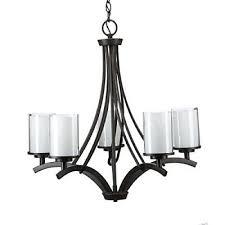 hampton bay brewerton 5 light ceiling chandelier oil rubbed bronze 89542