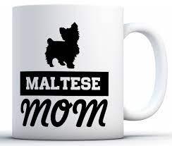 awkward styles maltese mom coffee mug
