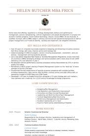Casting Director Resume Interim Commercial Director Resume Example Resume Resume