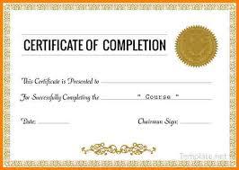 Sample Certificate Templates Certificate Of Completion Certificate Template Customize 265