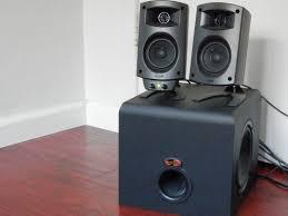 klipsch promedia 2 1 thx. 1. klipsch promedia 2.1 speaker system promedia 2 1 thx