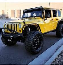 yellow jeep jk looking good yellow jeep wrangler4 door