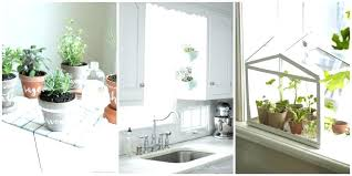 kitchen window hanging herb garden kitchen window herb garden greenhouse kitchen window hanging herb