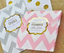 personalized metallic foil frame labels baby