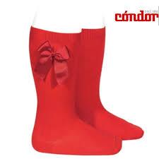 Condor Socks Knee High Socks With Side Grosgrain Bow Amazon