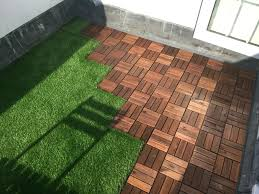 roof terrace with ikea decking tiles and oakham artificial grass 3rooftop deck flooring options