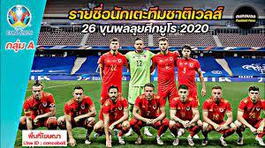 ยูโร2020 กลุ่ม A ทีมชาติเวลส์   รายชื่อนักเตะ   คนคอบอล - YouTube