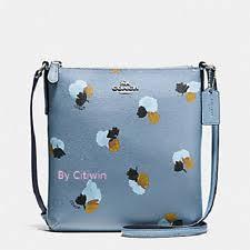 item 3 New Coach F59848 N S NS Crossbody Bag Messenger Purse Field Flora  Cornflower -New Coach F59848 N S NS Crossbody Bag Messenger Purse Field  Flora ...