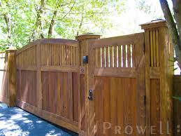 wood fence driveway gate. Plain Fence Custom Wood Driveway Gate 14 In Marin County In Wood Fence Driveway Gate