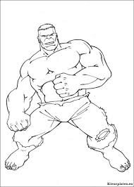 Hulk Kleurplaten Kleurplateneu