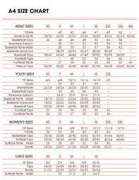 Custom Ink Size Chart Sizing Charts Sp Custom Online
