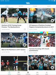 Carolina Panthers Mobile On The App Store