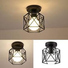 semi flush mount ceiling light e26