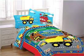 construction twin bedding set sets dump truck for boys decor 17
