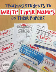 students to write their s on their papers teaching students to write their s on their papers