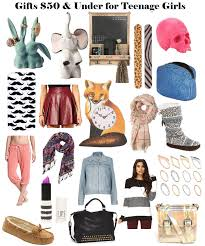 2013 Holiday Gift Ideas for Teen Girls (Under $50) http://www
