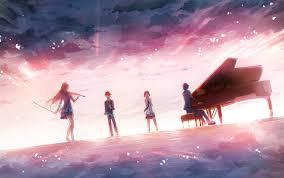 anime music wallpaper piano. Simple Piano Music Shigatsu Wa Kimi No Uso Piano Violin Wallpaper To Anime Music Wallpaper Piano
