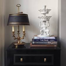 design dictionary blanc de chine with lamp