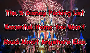 The 5 Disney Packing List Essential Items You Wont Read