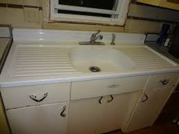 vintage kitchen sink cabinet. Vintage Youngstown Steel Enamel Kitchen Sink Counter Retro Cabinets In | Kitchens/ Mullins Pinterest Sinks, And Cabinet