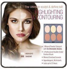 jerome alexander magic minerals contour kit beauty salon makeup face kit shades
