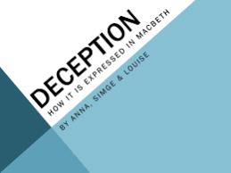 deception macbeth essay research paper academic service deception macbeth essay