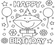 A variety of cards for a variety of people! Happy Birthday Coloring Pages To Print Happy Birthday Printable