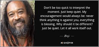 Mooji Quotes Custom TOP 48 QUOTES BY MOOJI Of 48 AZ Quotes
